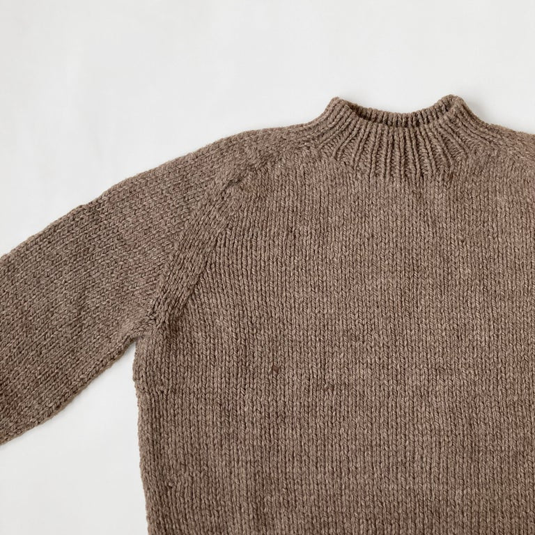 Hand Knitted Wool Jumper Molle - Cub
