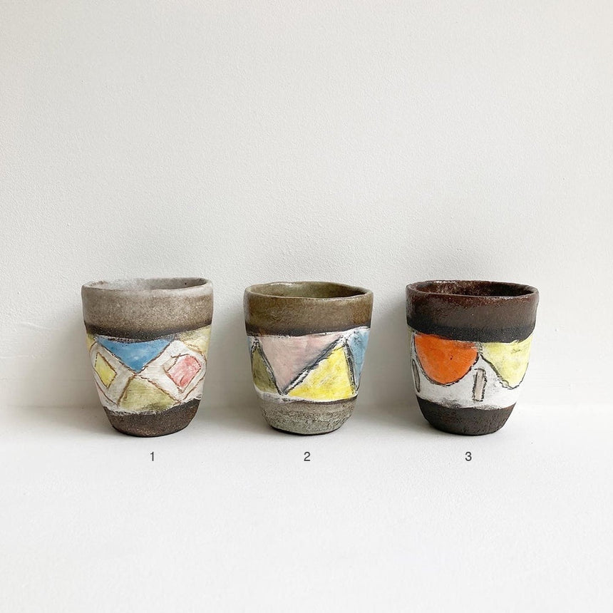 Beaker Cup by Shino Takeda - Large