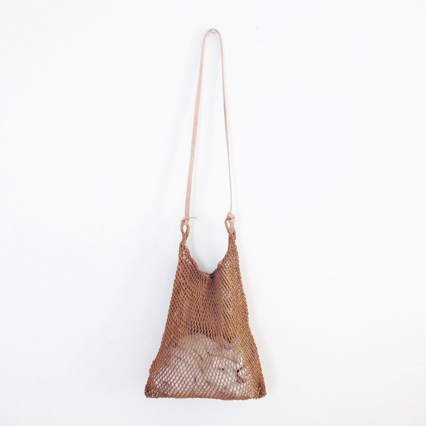Maguey Mesh Bag - Smoked