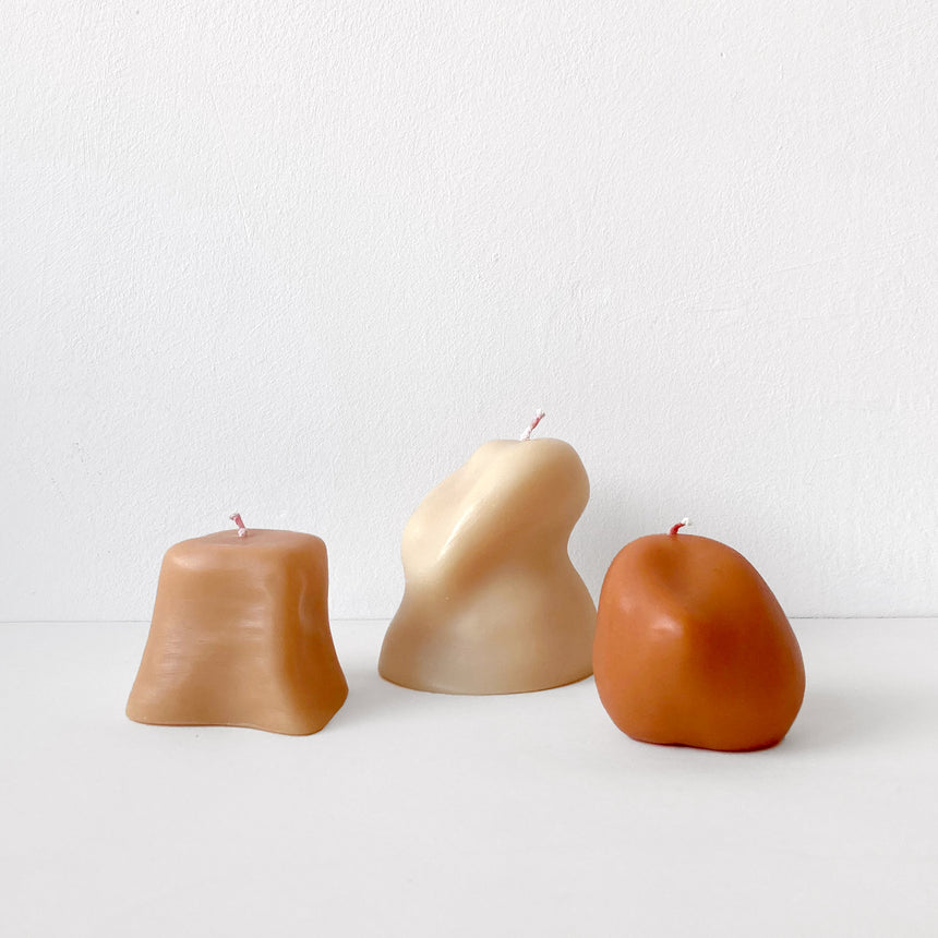 Sculptural Candles: Sole Set