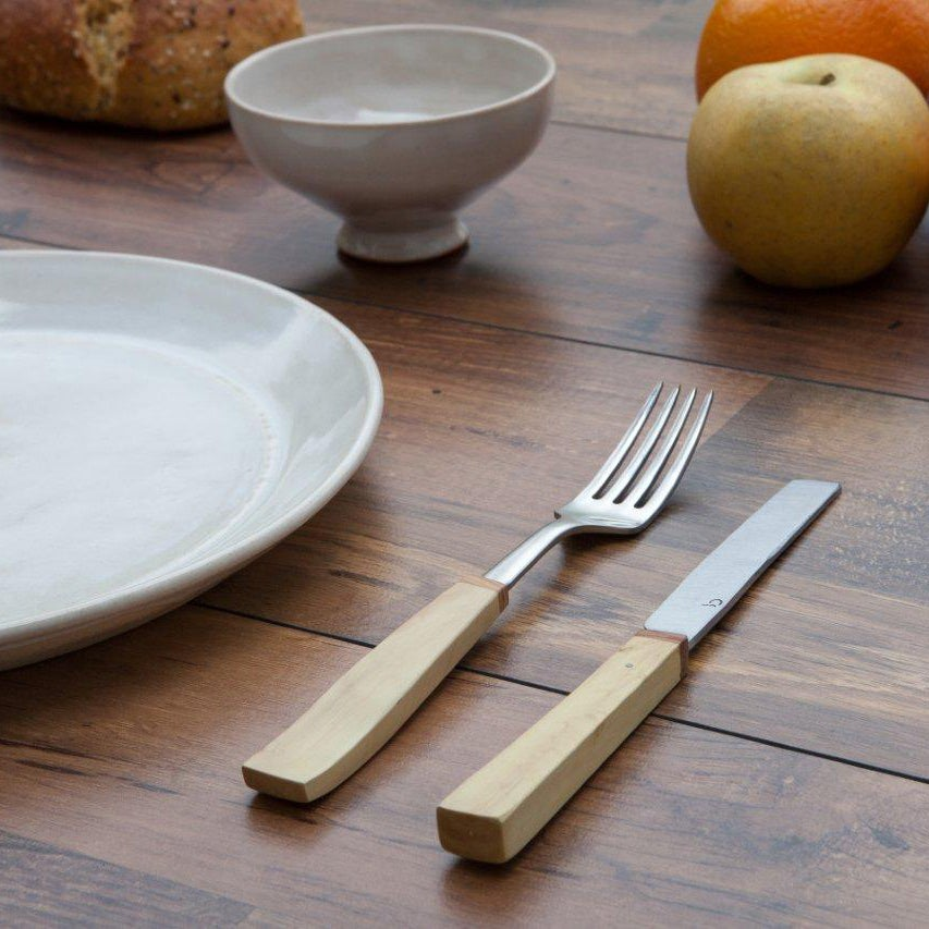 Table Knife & Fork - Boxwood