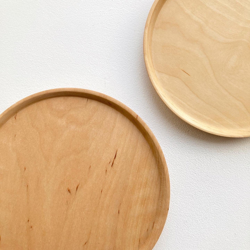 Hand Turned Wooden Plates