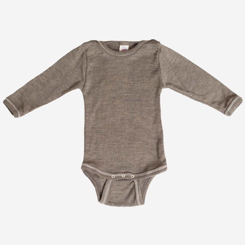 Merino Wool & Silk Body - Walnut