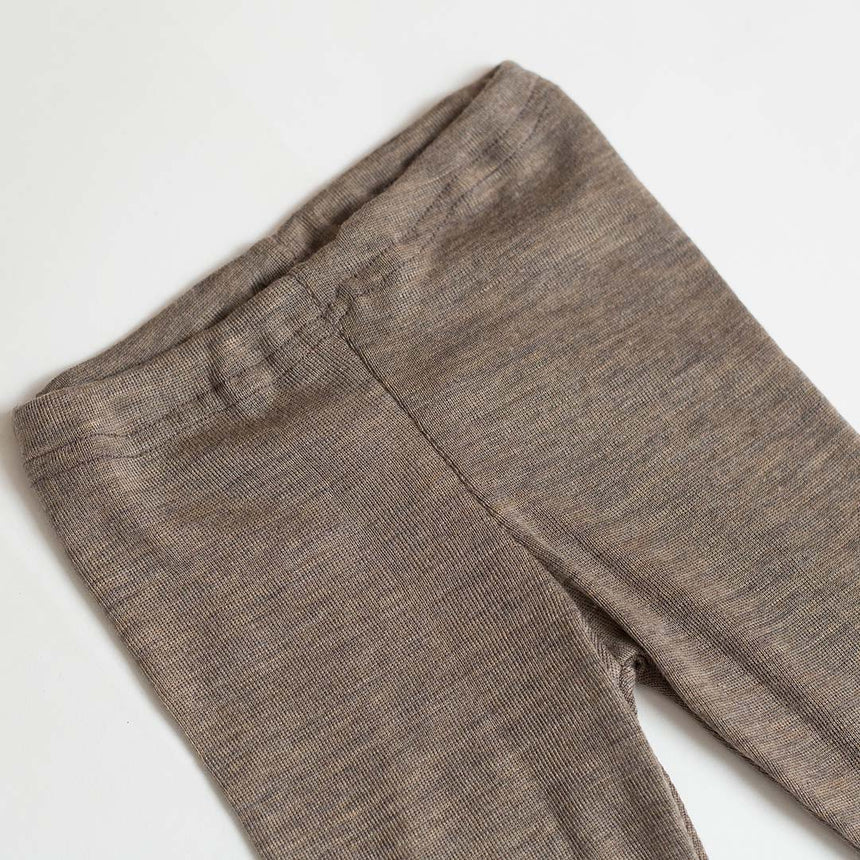 Merino Wool & Silk Leggings