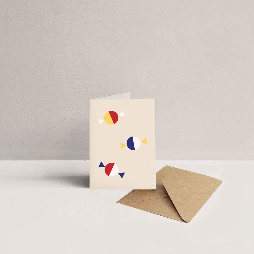 Mini Primary Greeting Cards