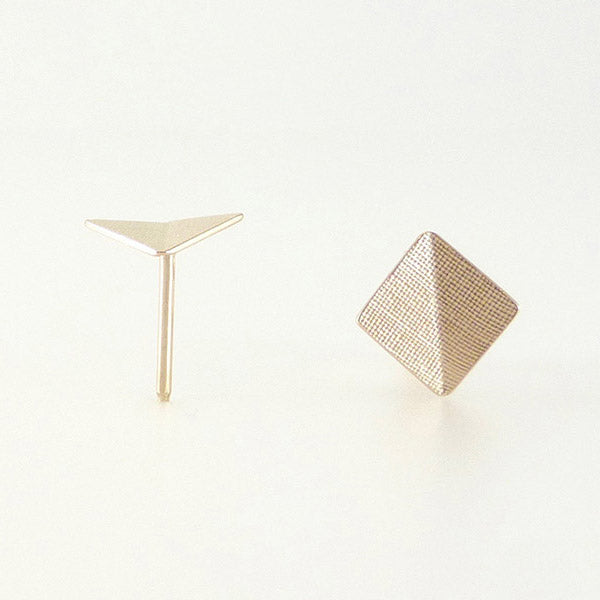 Stud Earring, Square