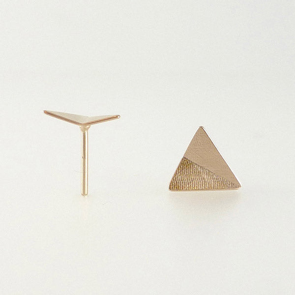 Stud Earring, Triangle
