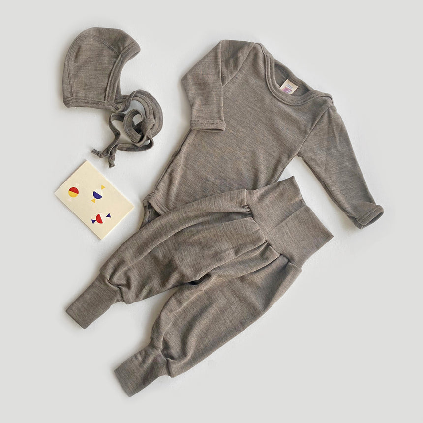 Baby Gift Set - Organic Cotton, Natural
