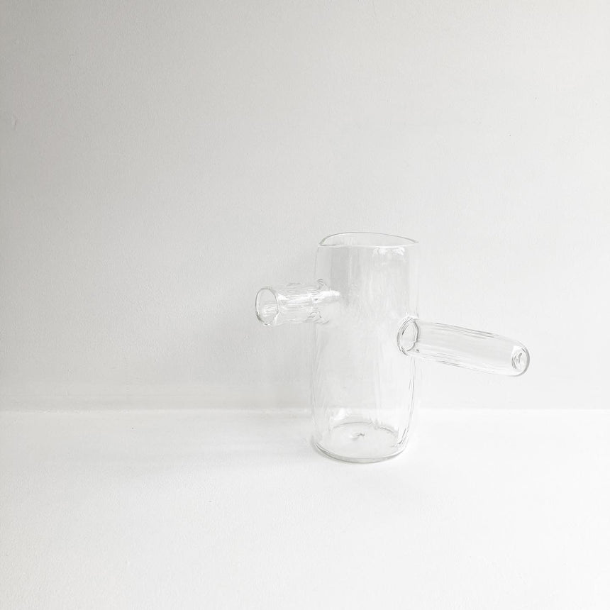 Textured Glass Teapot