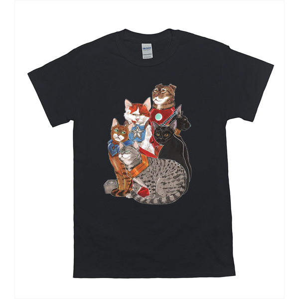 Hero Cats T-Shirts