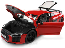 "Load image into Gallery viewer, Audi R8 V10 Plus ""Exclusive Edition"" 1:18 Scale - Maisto Diecast Model Car (Orange)"
