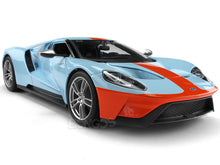 Load image into Gallery viewer, 2017 Ford GT 1:18 Scale - Maisto Diecast Model Car (Gulf)