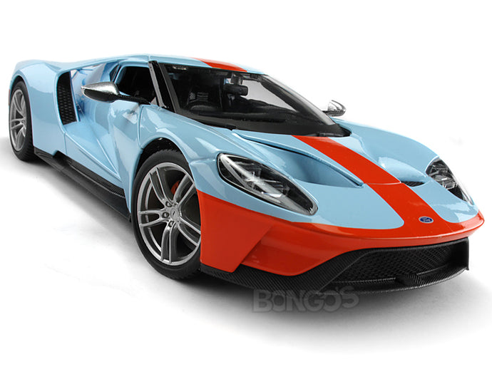 2017 Ford GT #1 1:18 Scale - Maisto Diecast Model Car (Gulf)