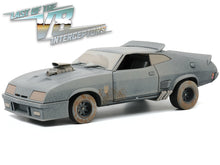 "Load image into Gallery viewer, ""Last of the V8 Interceptors"" 1973 Ford Falcon XB Coupe ""Weathered"" (Mad Max) 1:18 Scale - Greenlight Diecast Model Car"