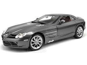 Mercedes-Benz SLR McLaren 1:18 Scale - Maisto Diecast Model Car (Grey)