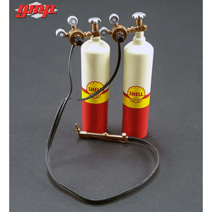 """SHELL OIL"" Garage Accessory Kit 1:18 Scale - GMP Diecast Accessories"