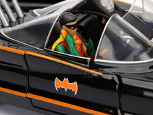 Load image into Gallery viewer, Batmobile - 1966 TV Version w/ Batman & Robin Figures 1:24 Scale - Jada Diecast Model