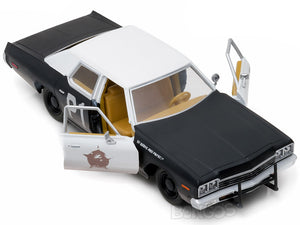 """Blues Brother's - Bluemobile"" 1974 Dodge Monaco 1:24 Scale - Greenlight Diecast Model Car"