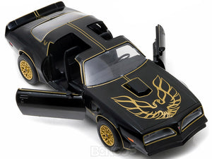 """Smokey and the Bandit"" 1977 Pontiac Trans Am (T/A) Firebird 1:24 Scale - Greenlight Diecast Model Car"