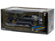 "Load image into Gallery viewer, ""Smokey and the Bandit"" 1977 Pontiac Trans Am (T/A) Firebird 1:24 Scale - Greenlight Diecast Model Car"