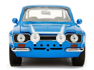 """Fast & Furious"" Brian's 1974 Ford Escort RS2000 Mk 1 1:24 Scale - Jada Diecast Model Car"