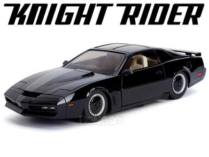 """K.I.T.T."" - Knight Rider w/ Working Lights 1:24 Scale - Jada Diecast Model Car"