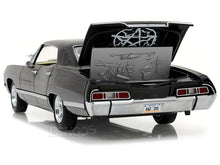 "Load image into Gallery viewer, ""Supernatural"" 1967 Chevy Impala Sports Sedan 1:24 Scale - Greenlight Diecast Model Car"