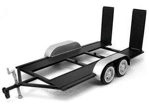Diecast Car Trailer 1:24 Scale - MotorMax Diecast Model