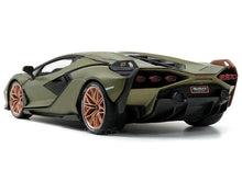 Load image into Gallery viewer, Lamborghini Sian FKP37 1:18 Scale - Bburago Diecast Model
