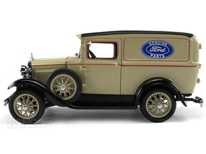 "1931 Ford Model A Delivery Van ""Ford Genuine Parts"" 1:18 Scale - Signature Diecast Model (Cream)"
