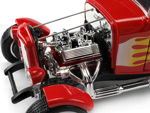 "1932 Ford Coupe ""Hot Rod - Platinum Collection"" 1:18 Scale - MotorMax Diecast Model (Red)"