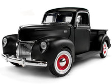 Load image into Gallery viewer, 1940 Ford Pickup 1:18 Scale - MotorMax Diecast Model Car (Matt Black)
