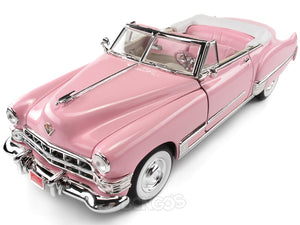 1949 Cadillac Coupe de Ville 1:18 Scale - Yatming Diecast Model Car (Pink)