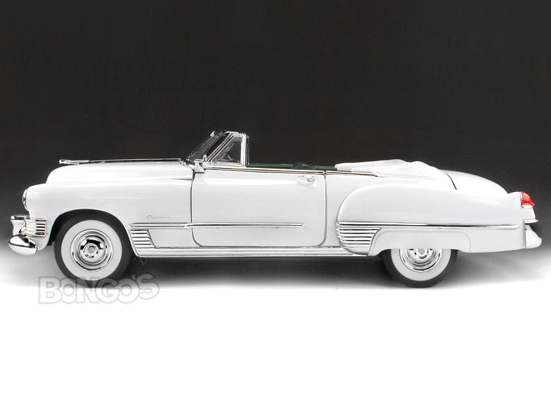 1949 Cadillac Coupe de Ville 1:18 Scale - Yatming Diecast Model Car (White)