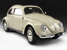 "Load image into Gallery viewer, 1950 VW Beetle ""Split Window"" 1:18 Scale - Welly Diecast Model Car (Cream)"