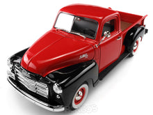 Load image into Gallery viewer, 1950 GMC 150 Pickup 1:18 Scale - Yatming Diecast Model Car (Red/Black)