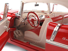 Load image into Gallery viewer, 1955 Chevy Bel Air 1:18 Scale - MotorMax Diecast Model Car (Red)