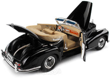 Load image into Gallery viewer, 1955 Mercedes-Benz 300S Cabriolet 1:18 Scale - Maisto Diecast Model Car (Black)
