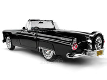 Load image into Gallery viewer, 1956 Ford Thunderbird Roadster 1:18 Scale - MotorMax Diecast Model (Black)