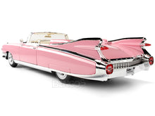 Load image into Gallery viewer, 1959 Cadillac El Dorado 1:18 Scale - Maisto Diecast Model Car (Pink)