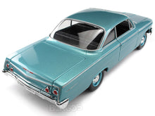 Load image into Gallery viewer, 1962 Chevy Bel Air Hardtop 1:18 Scale - Maisto Diecast Model Car (Turquoise)