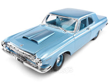 Load image into Gallery viewer, 1963 Dodge 330 Hardtop 1:18 Scale - Maisto Diecast Model Car (Blue)