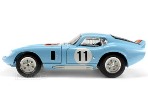 1965 Shelby Cobra Daytona #11 1:18 Scale - Yatming Diecast Model Car (Gulf)