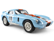 Load image into Gallery viewer, 1965 Shelby Cobra Daytona #11 1:18 Scale - Yatming Diecast Model Car (Gulf)