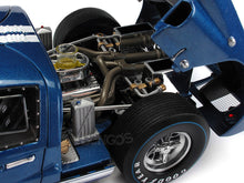 Load image into Gallery viewer, 1966 Ford GT-40 (GT40) Mk II #6 Le Mans Andretti/Bianchi 1:18 Scale - Shelby Collectables Diecast Model Car (Blue)