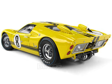 Load image into Gallery viewer, 1966 Ford GT-40 (GT40) Mk II #8 Le Mans Whitmore/Gardner 1:18 Scale - Shelby Collectables Diecast Model Car (Yellow)