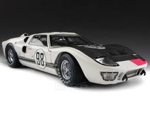 "Load image into Gallery viewer, 1966 Ford GT-40 (GT40) Mk II #98 Daytona ""Winner"" Miles/Ruby 1:18 Scale - Shelby Collectables Diecast Model Car (White)"