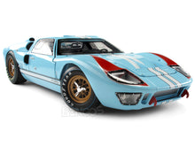 Load image into Gallery viewer, 1966 Ford GT-40 (GT40) Mk II 1:18 Scale - Shelby Collectables Diecast Model Car (Gulf/Plain)