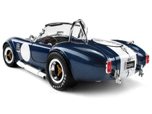 "Load image into Gallery viewer, 1965 Shelby Cobra 427 S/C ""Signed Version"" 1:18 Scale - Shelby Collectables Diecast Model Car (Blue)"
