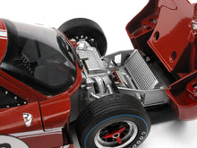 "Load image into Gallery viewer, 1967 Ford GT-40 (GT40) Mk IV #3 ""Le Mans - Andretti/ Bianchi"" 1:18 Scale - Shelby Collectables Diecast Model Car (Red/Brown)"
